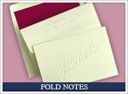 Personalized Fold Notes