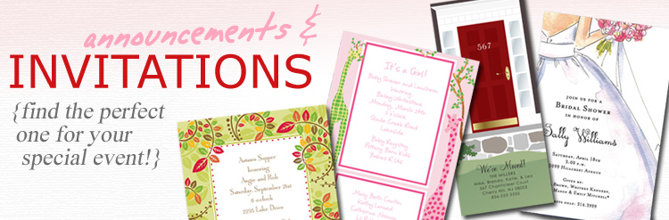 Invitations & Accessories