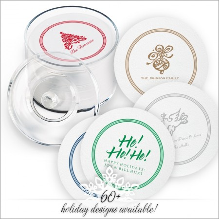 Holiday DYO Coasters with Design