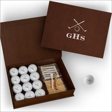Golf Balls - Personalized with Display Box