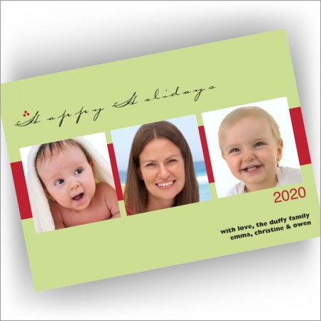 Holiday Portraits Photo Cards