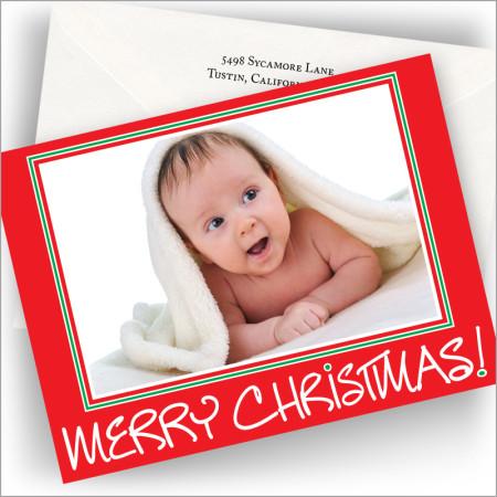 Big Merry Christmas! Photo Cards