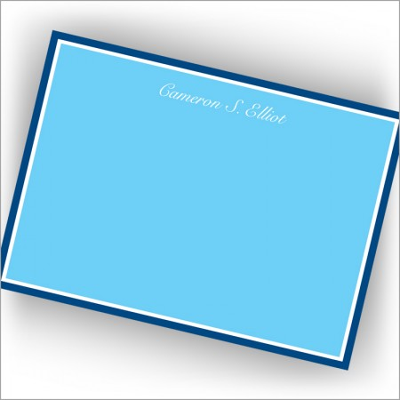 Blue Hewn Correspondence Cards