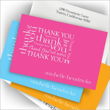 Celestial Thank You Note Set