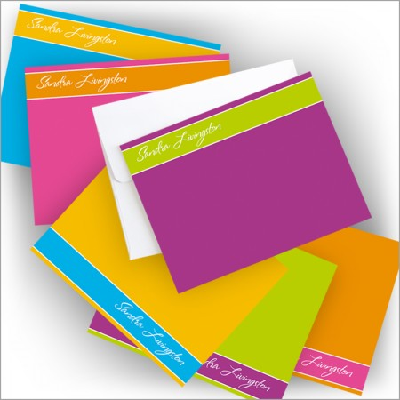 Colorful Banded Correspondence Cards