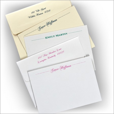 Cordial Correspondence Cards