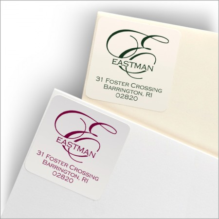 Coventry Square Labels - Design 3