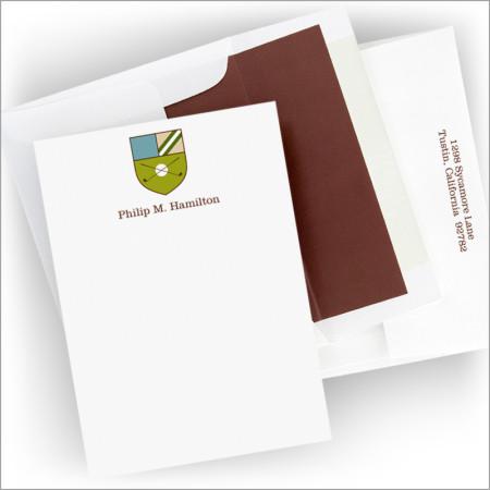 Crest Golf Correspondence Cards