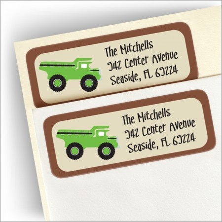 Dig Return Address Label