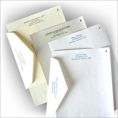 Executive Stationery - Extra Printed Executive Envelopes Only