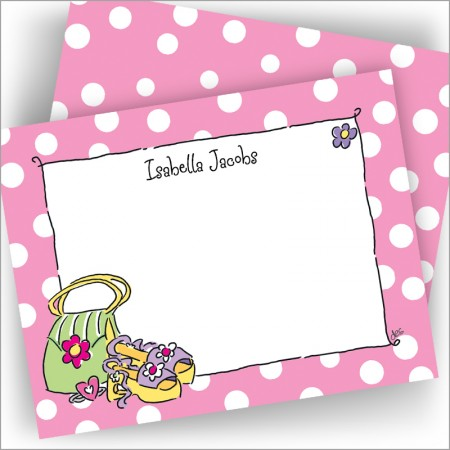 Girly Purse & Shoes Cards