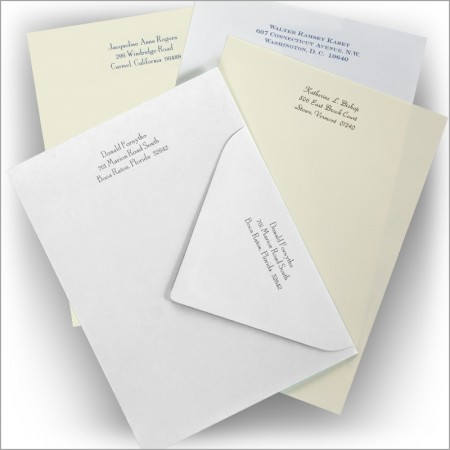 Handcraft Vellum Business Stationery - Social Size