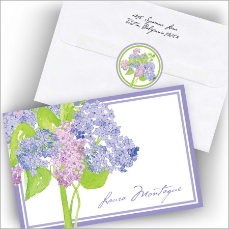 Hydrangea Notes and Seals