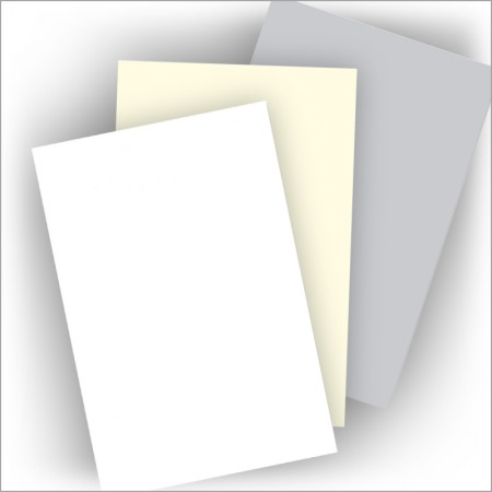 Laid Mark Vellum Stationery - Monarch Plain Sheets