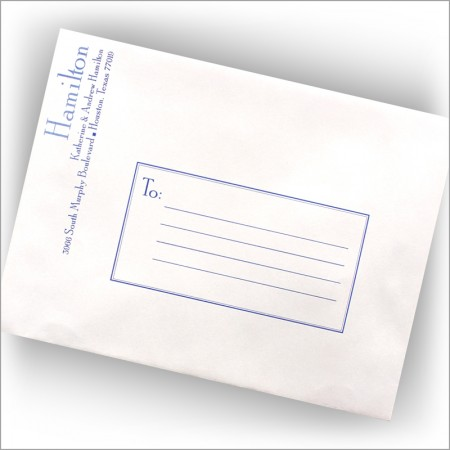 Large Name Business Mailers - Side Personalization