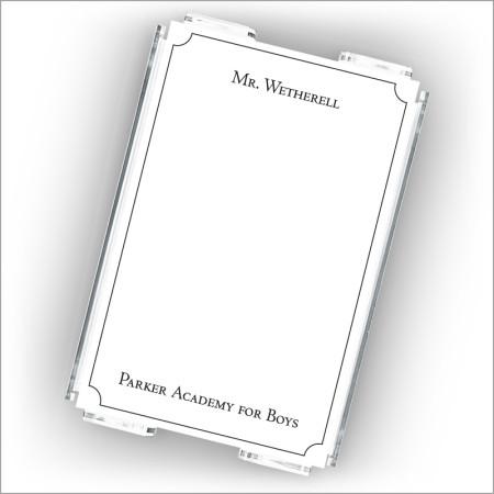 Mr. Teacher Memo Set