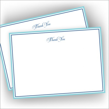 Pacifica Correspondence Cards - Thank You