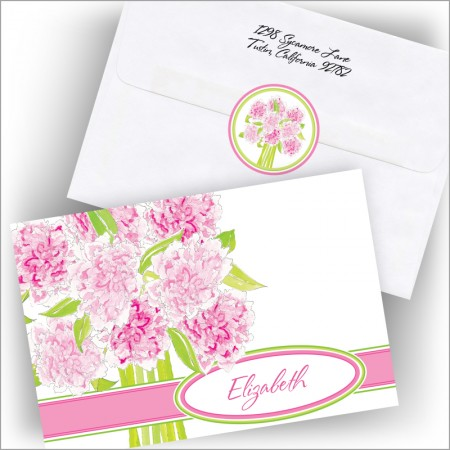 Peony Bouquet Note Set