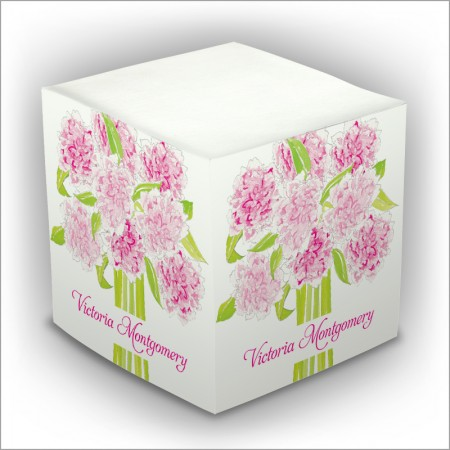 Personalized Self Stick Memo Cubes - Style 7