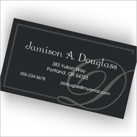 Pinstripes Calling Cards