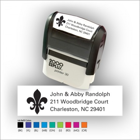 Quick Stamp w/Black Ink & 1 Color Refill - Format 7