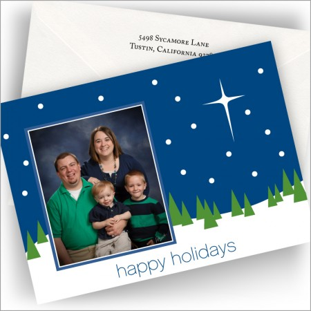Silent Night Photo Cards