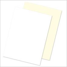 Laid Mark Vellum Stationery - Social Plain Sheets