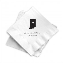State-ly Beverage Napkins