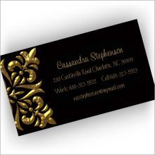 Golden Fleur Cards
