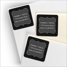 Worthington Return Address Labels