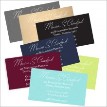 Colorful Business Cards Design 3