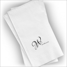 Textured Guest Towels - Format 3 - Name