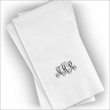 Textured Guest Towels - Format 1 & 2 - Monogram