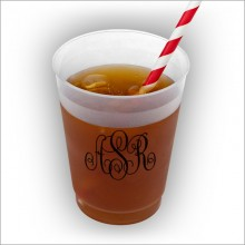 DYO 16 oz. Frosted Tumbler - with Monogram