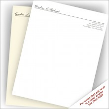 Top Quality Business Stationery - Script Name
