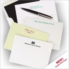 Letterpress Cards with 100% Cotton Paper - with Design