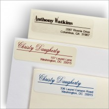 Above the Line! Address Labels