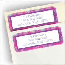 Amelia Return Address Labels