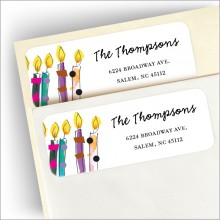 Birthday Blowout Address Labels