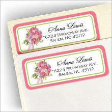 Bridal Bouquet Address Labels