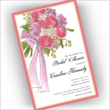 Bridal Bouquet Invitations