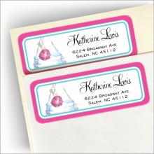 Bride's Legs Address Labels
