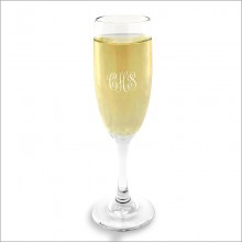 Champagne Glasses - with Monogram