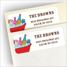 Cool Suds Address Labels