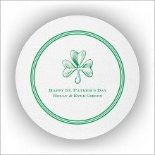 DYO Coasters with Design - St. Patrick's