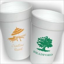DYO 16 oz. Foam Cups - with Design