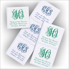DYO Square Labels - with Monogram