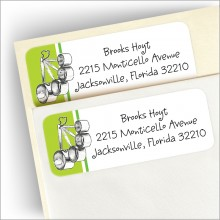 Miscellaneous Shower Address Labels