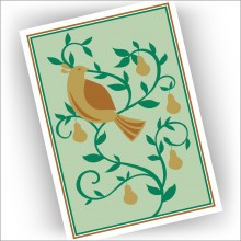 Partridge in Pear Tree Christmas Cards