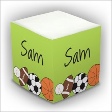 Personalized Self Stick Memo Cubes - Style 23